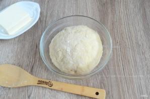 Recette de cuisson photo: brioches de sinnabon avec cannelle et crème crème - Étape n ° 12