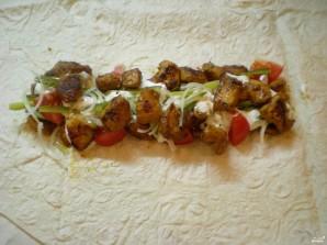 Chicken Shawarma - Larawan Hakbang 7.