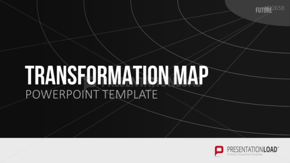 Transformation Map PowerPoint Template