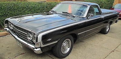 1968 Ford Ranchero Cars for sale Ford   Ranchero 1968 ford ranchero black exterior black and grey interior