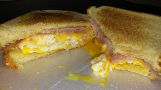 Fried Egg And Cheese Sandwich Recipe Genius Kitchen