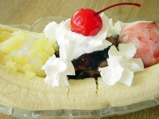 Traditional Banana Split Recipe Genius Kitchen
