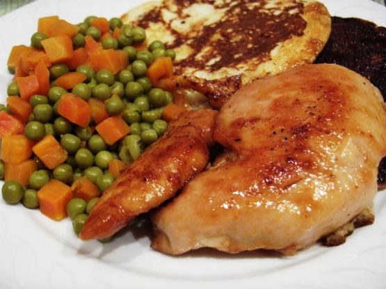 Chicken Breasts With Spicy Honey Orange Glaze Recipe