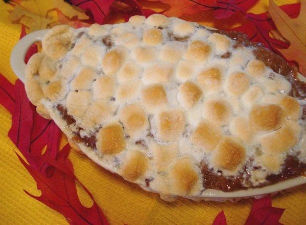 Recipe Sweet Yams Marshmallows