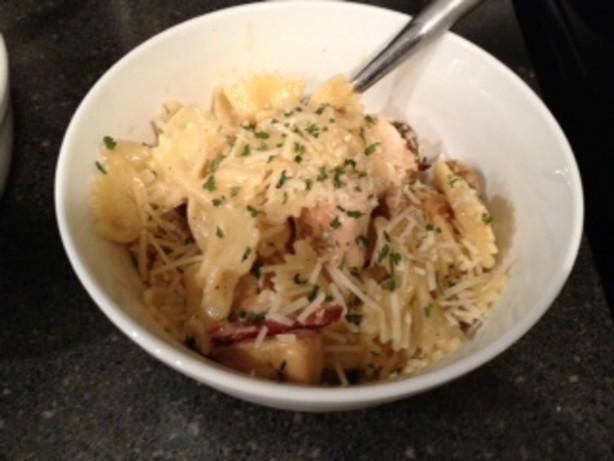 Bow Sauce Cream Recipes Tie Pasta