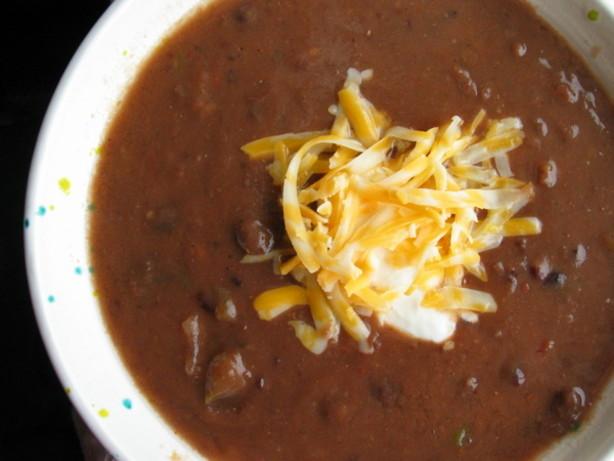 Easy Black Bean Soup Recipe Food Com