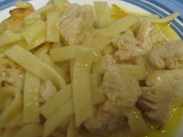 Food Network Recipe Chicken Tetrazzini