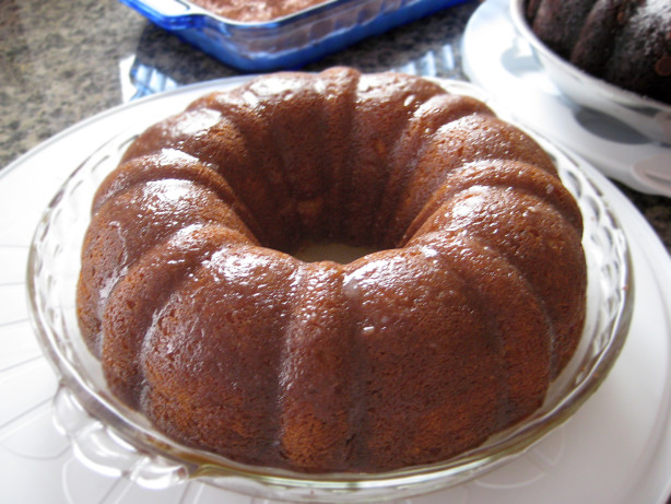 Golden Bacardi Rum Cake Recipe Food Com
