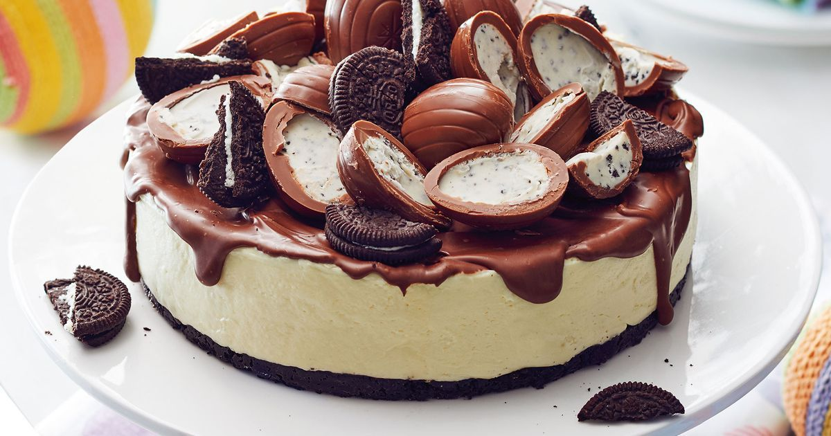 Double Chocolate Easter Cheesecake