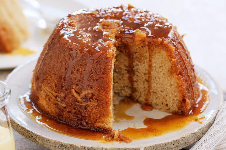 Quick Caramel Cake