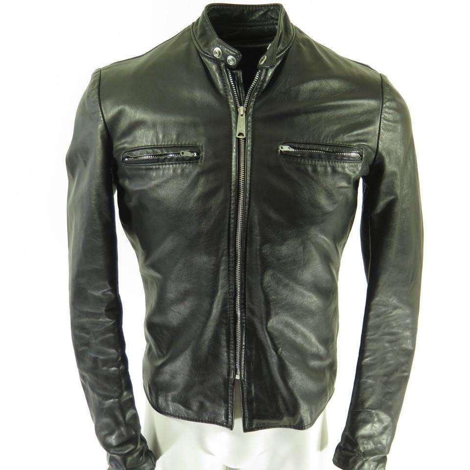 Brooks Cafe Racer Style Jacket