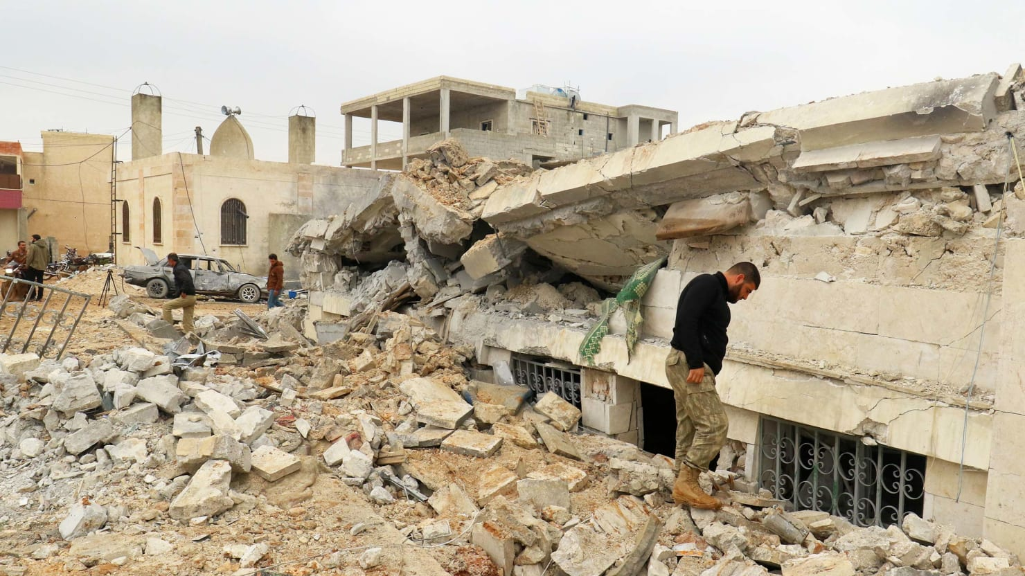 U S Bombs Syrian Village And Shrugs