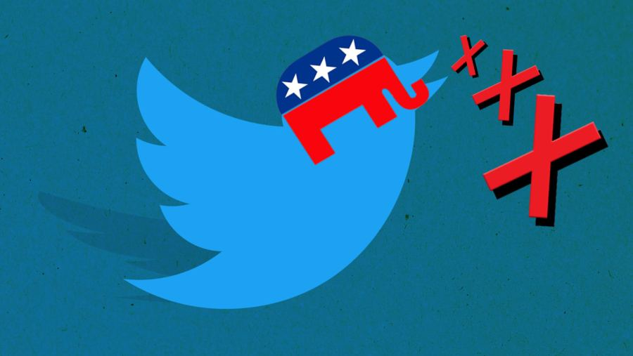 Why a Red  X  Is the New Symbol of Conservative Twitter