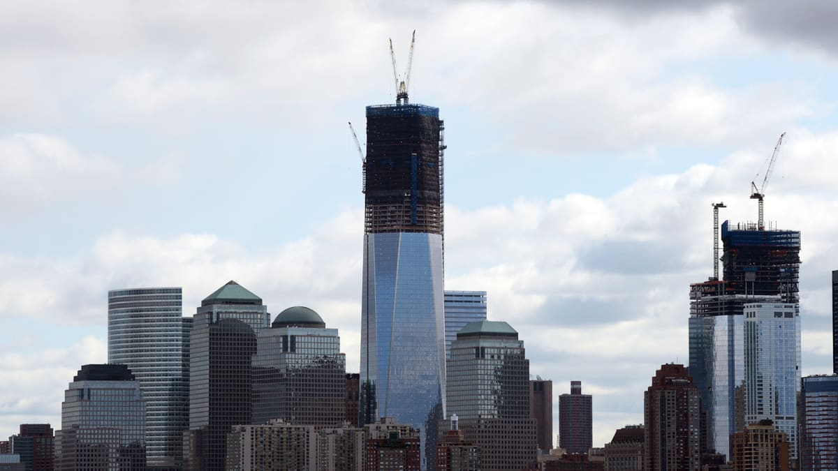 Rise Of Tallest New York Building At Ground Zero Signals