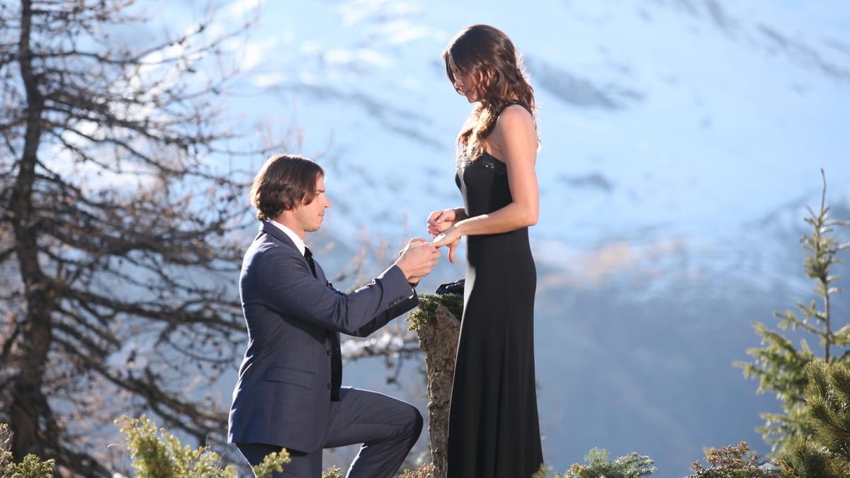 Bachelor Finale Ben Flajnik Courtney Robertson Amp A