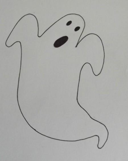 Ghost Eyes Template Printable