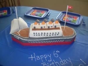 Titanic Cake Thriftyfun