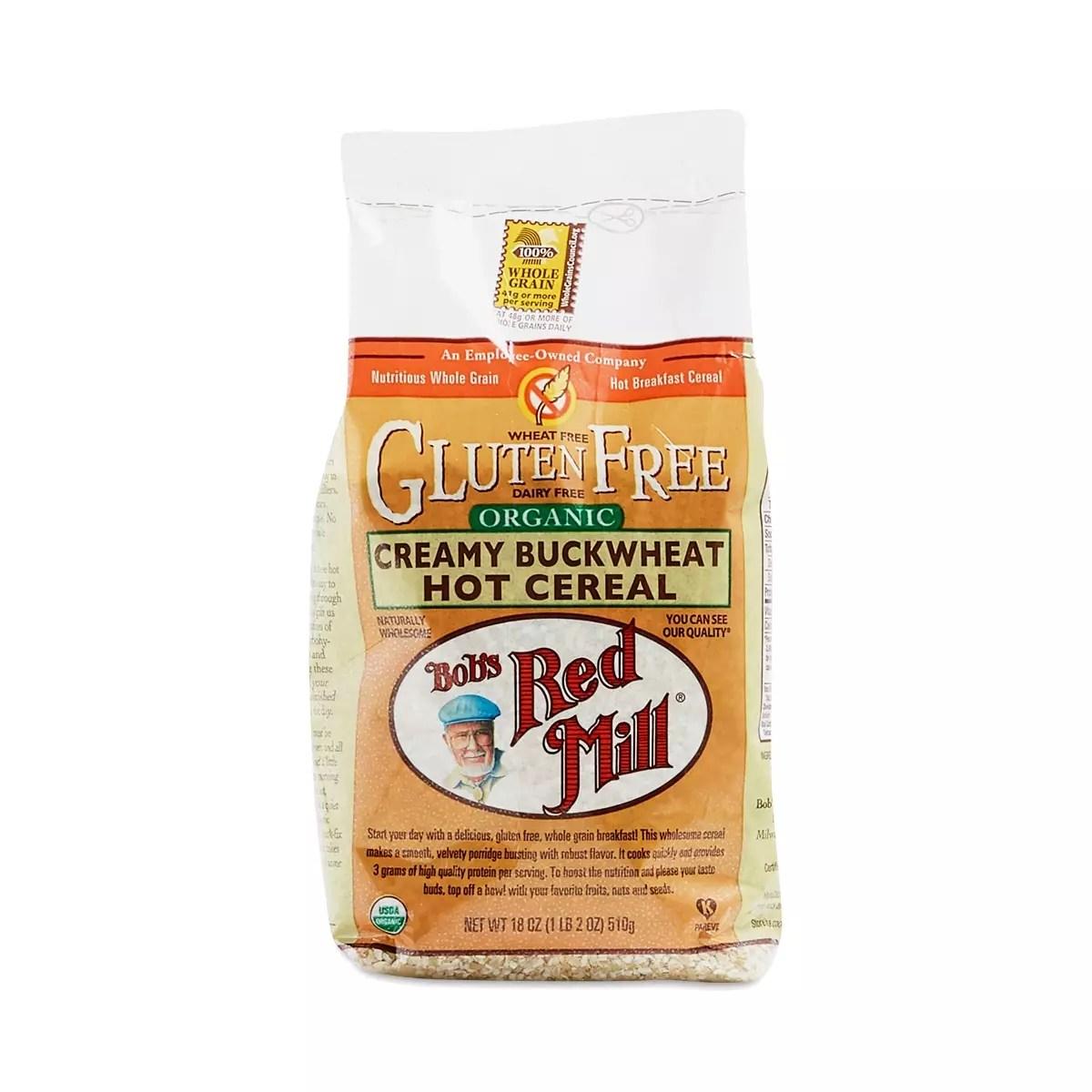 Bob's Red Mill Organic Creamy Buckwheat Hot Cereal ...