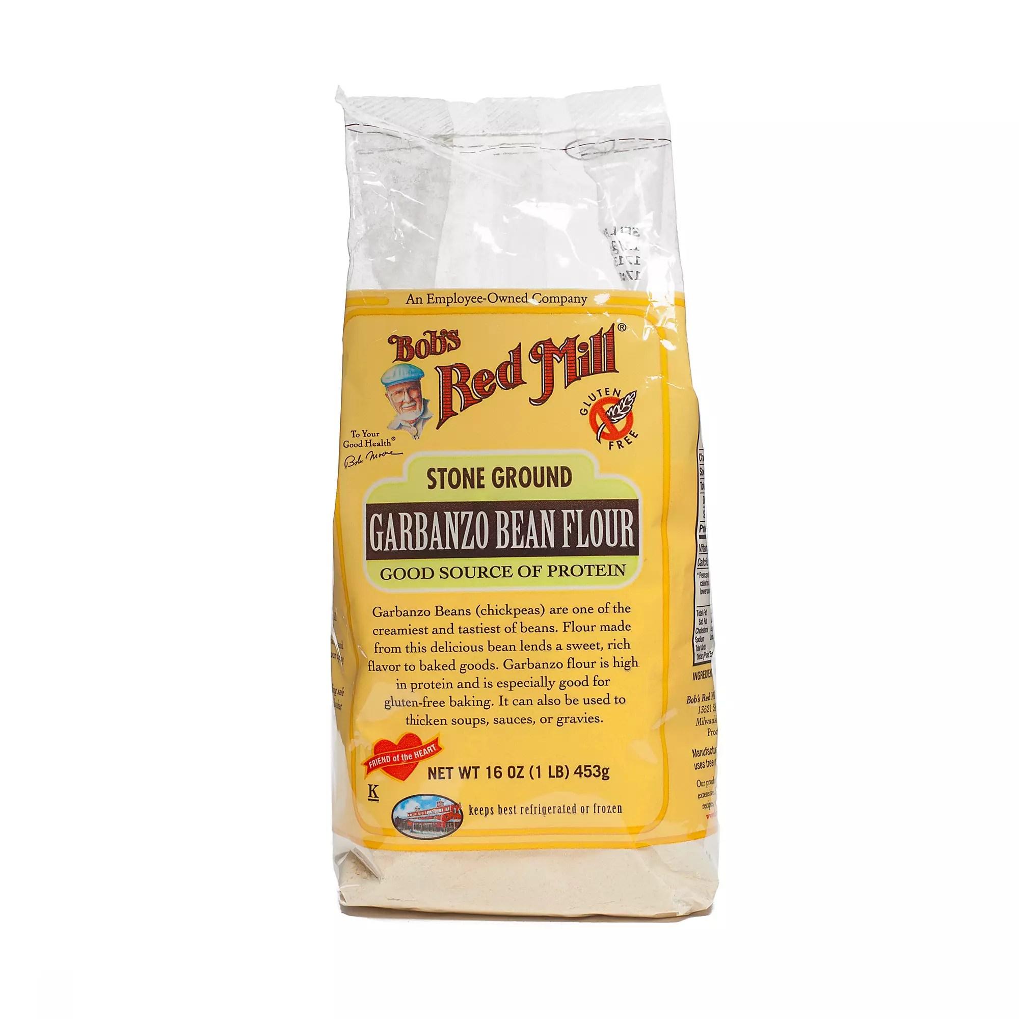 16 oz Garbanzo Bean Flour by Bob's Red Mill - Thrive Market