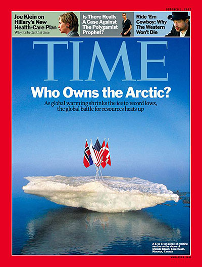 Global Warming Time Magazine Cover