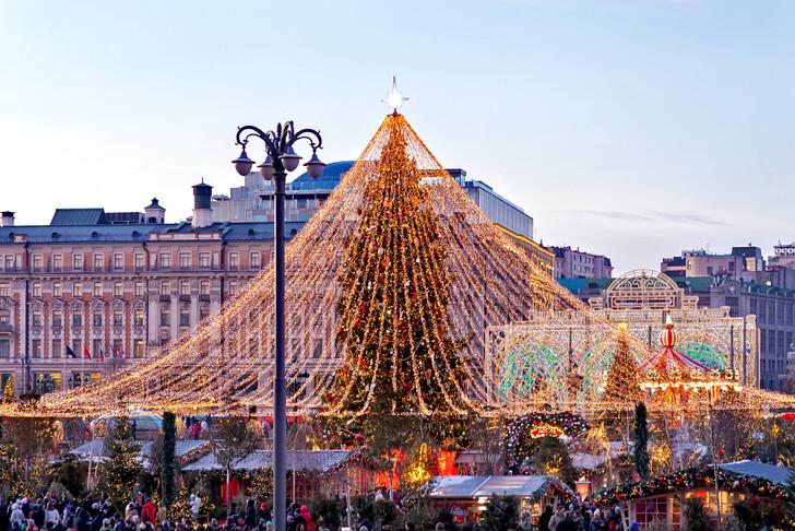 Nouvel An Moscou