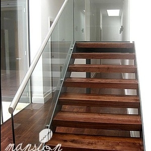 Interior Home Used Solid Oak Wood Stair Treads Wholesale Stairs | Real Wood Stair Treads | Vertical Bamboo Stair | Replacement | Acacia | Self Adhesive | Riser