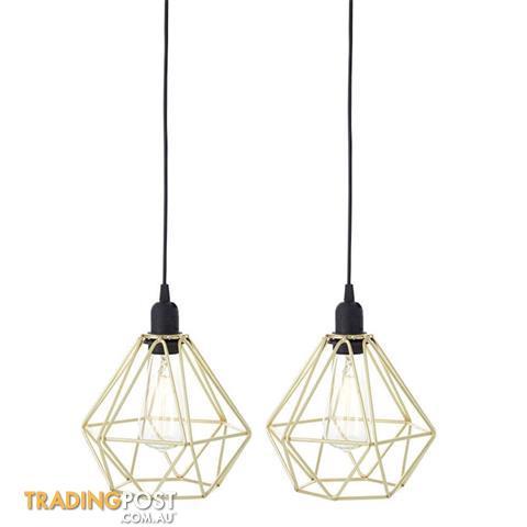 geometric mini pendant light # 51