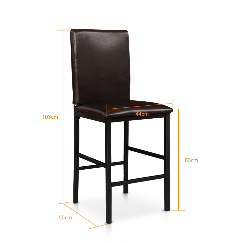 3pcs Bar Table And Chairs
