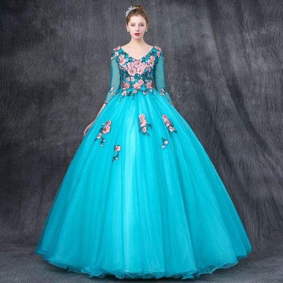Evening Gown Ball Sleeve 4 Empire 3