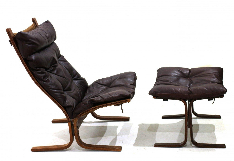 Leather Tufted Ottoman Storage
