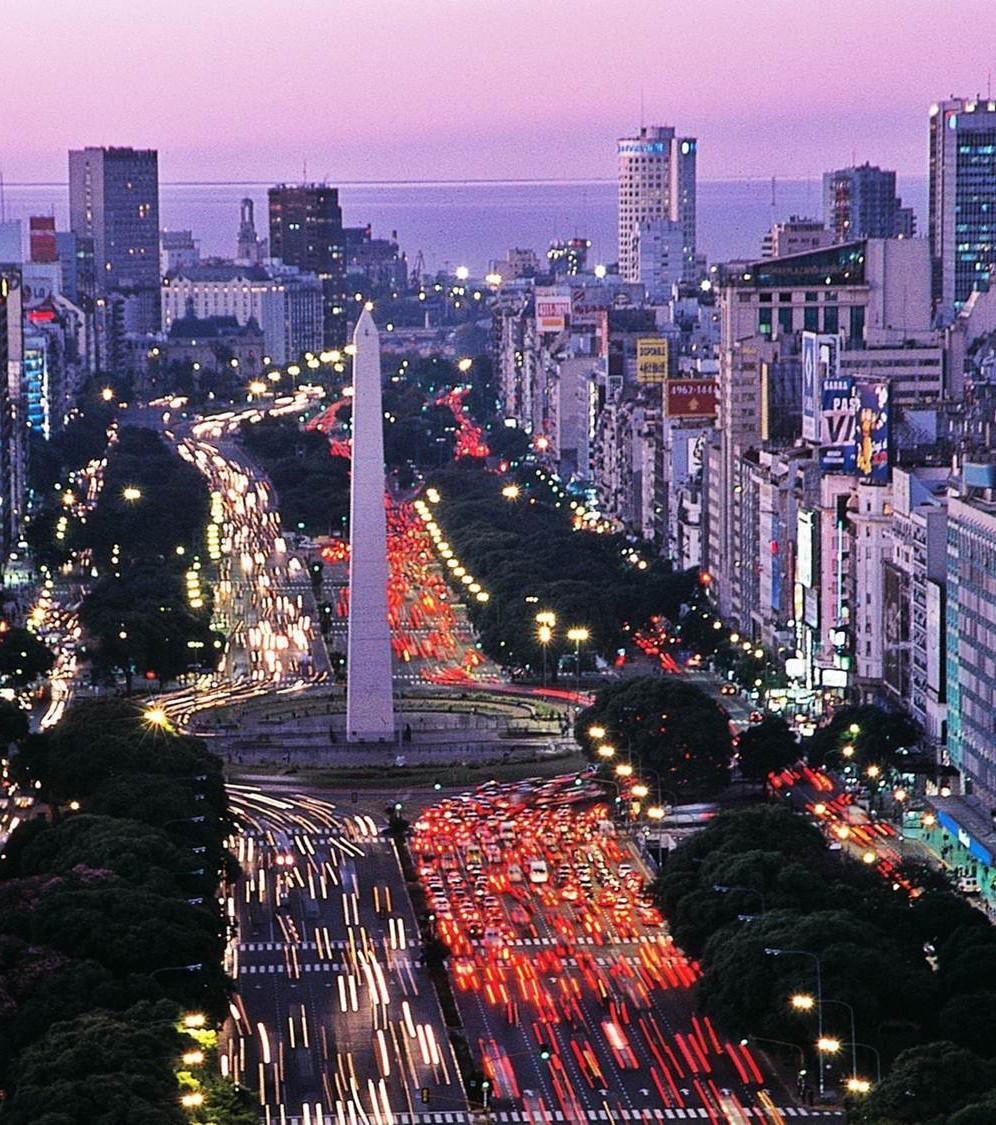 Buenos Large 9 La La Route Monde Aires Argentine Julio De Du Plus