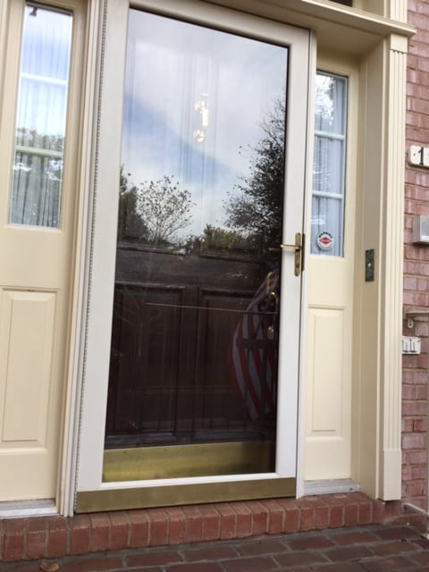 How To Make An Old Storm Door Look New Again The