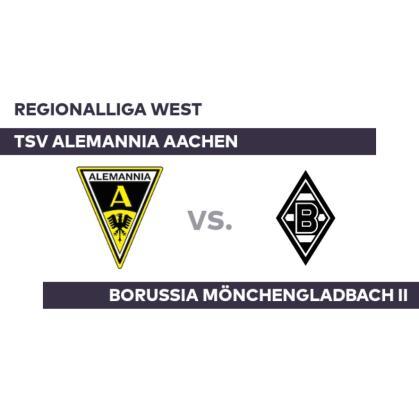 TSV Alemannia Aachen – Borussia Mönchengladbach II: Schroers approach; Gladbach prevail – Regionalliga West
