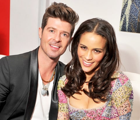 """Robin Thicke: My Son Julian """"Made Me Realize What Was Most ..."""