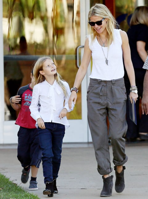 Gwyneth Paltrow allows daughter Apple to cheat on her ...
