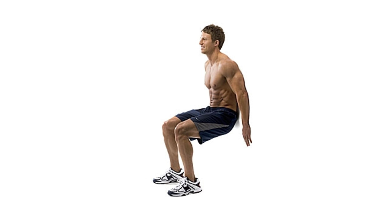 Wall Sit | The Only 5 Moves You Need for a Healthy Back ...