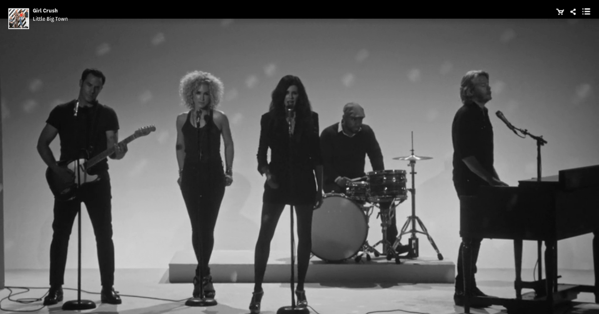 Watch Little Big Town S Sultry Girl Crush Video