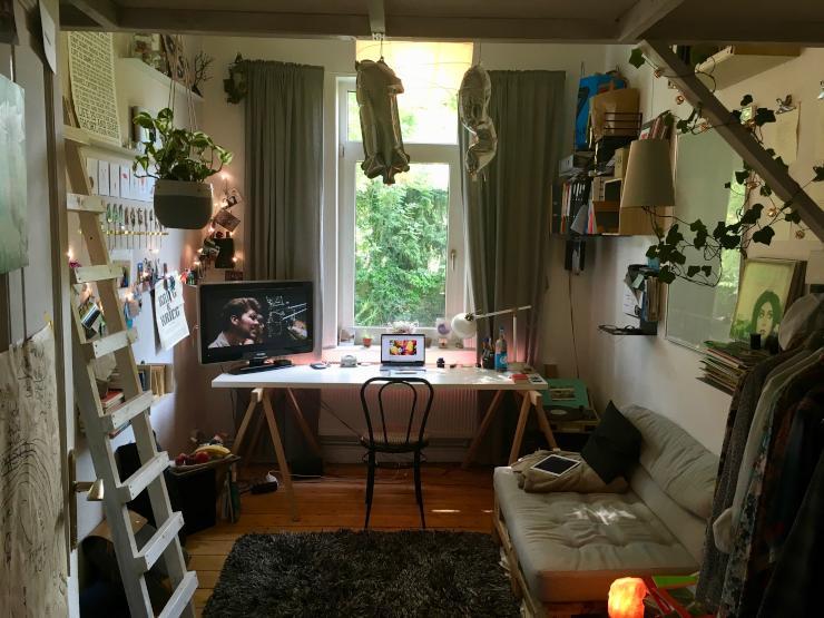Möbiliertes 11 qm Zimmer in toller 4er-WG mit Garten, Südstadt, ab September