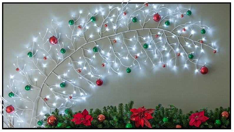 Blue Laser Christmas Lights