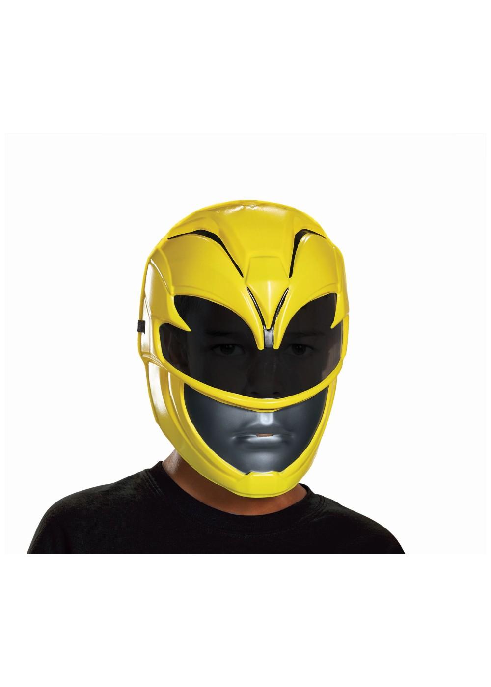 Power Rangers Movie Yellow Boys Mask Accessories