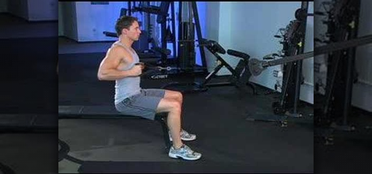 How To Work Your Back Muscles With Narrow Grip Seated Rows