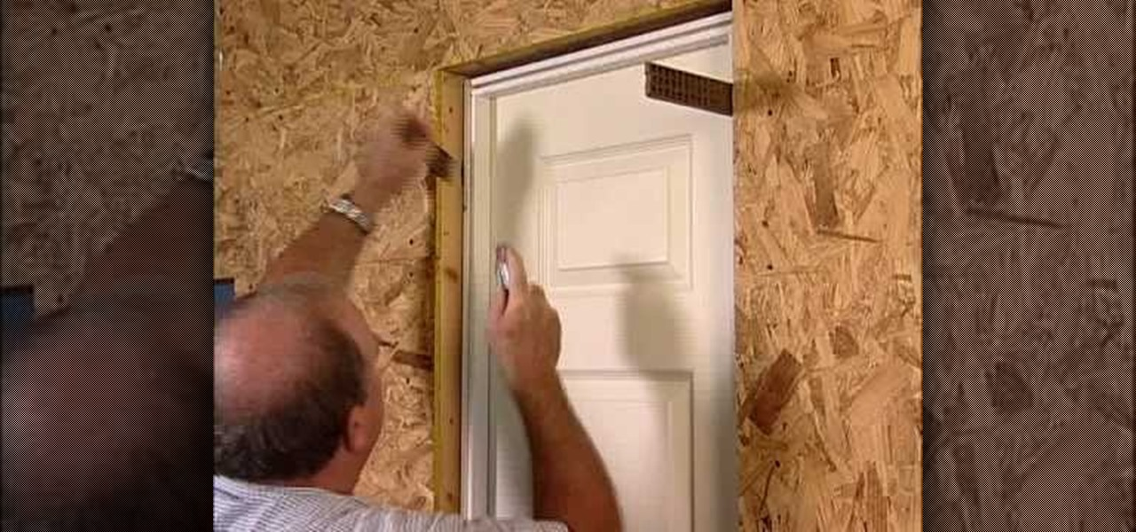 Installing Interior Door Not Prehung
