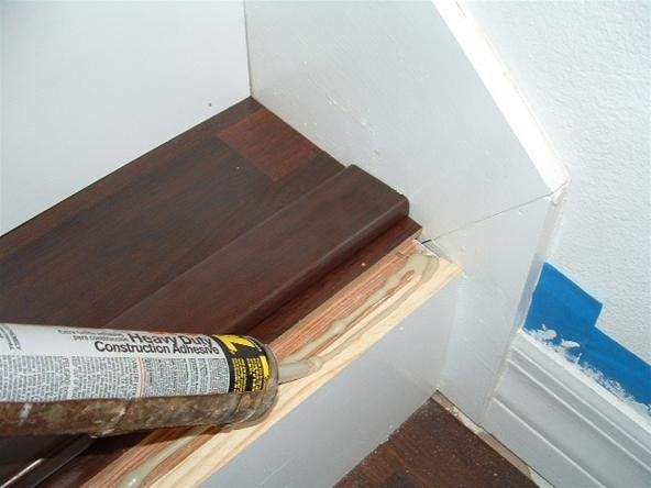 Do You Want To Install Laminate Flooring On Your Stairs « Diy | Installing Wood Floors On Stairs | Stair Tread | Stair Nosing | Carpeted Stairs | Vinyl Plank | Carpet