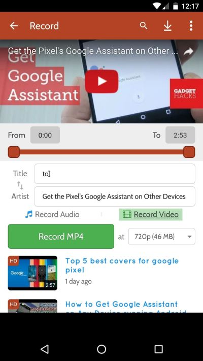 How to Download YouTube Audio or Video from Your Android ...