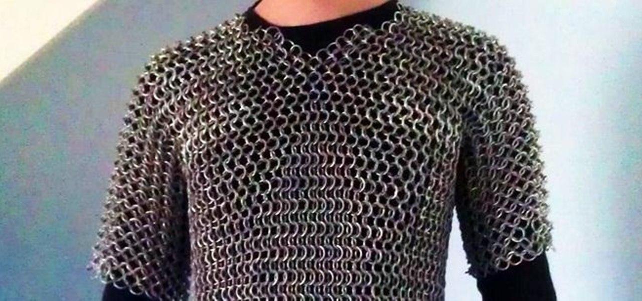 Knitting Pattern Chainmail