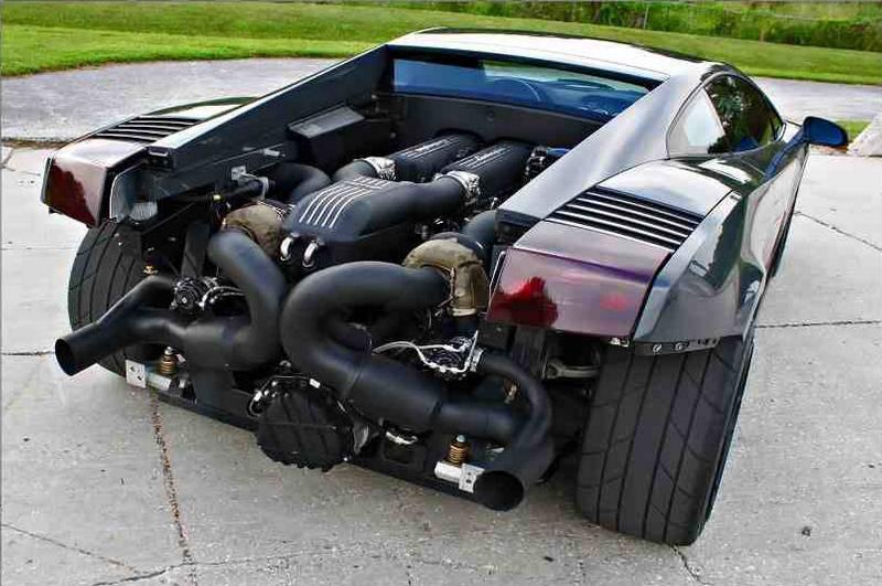 Lamborghini Gallardo Twin Turbo Engine