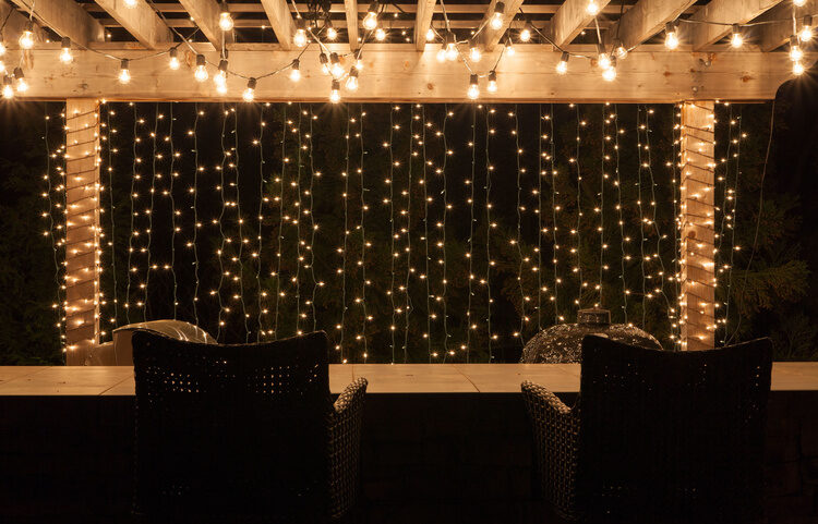 Best Ever Backyard Lighting  String Lights    Yard Envy Pergola lighting ideas for backyard parties