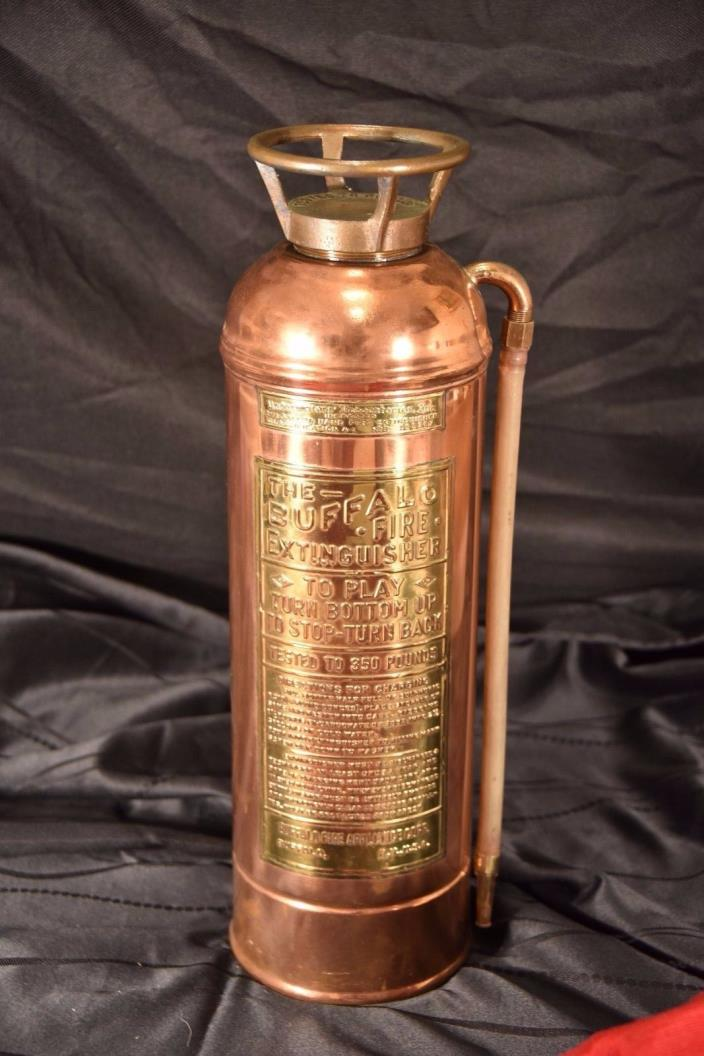 Brass Copper Fire Extinguisher - For Sale Classifieds