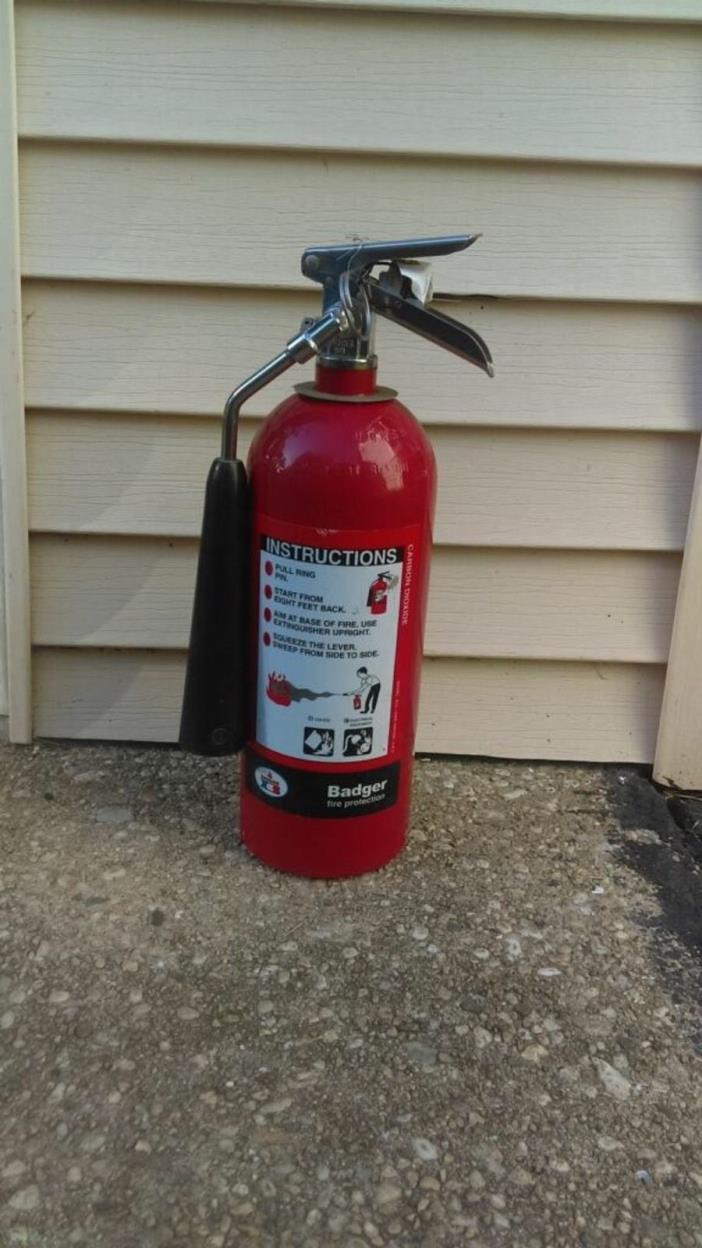 Carbon Dioxide Fire Extinguisher - For Sale Classifieds