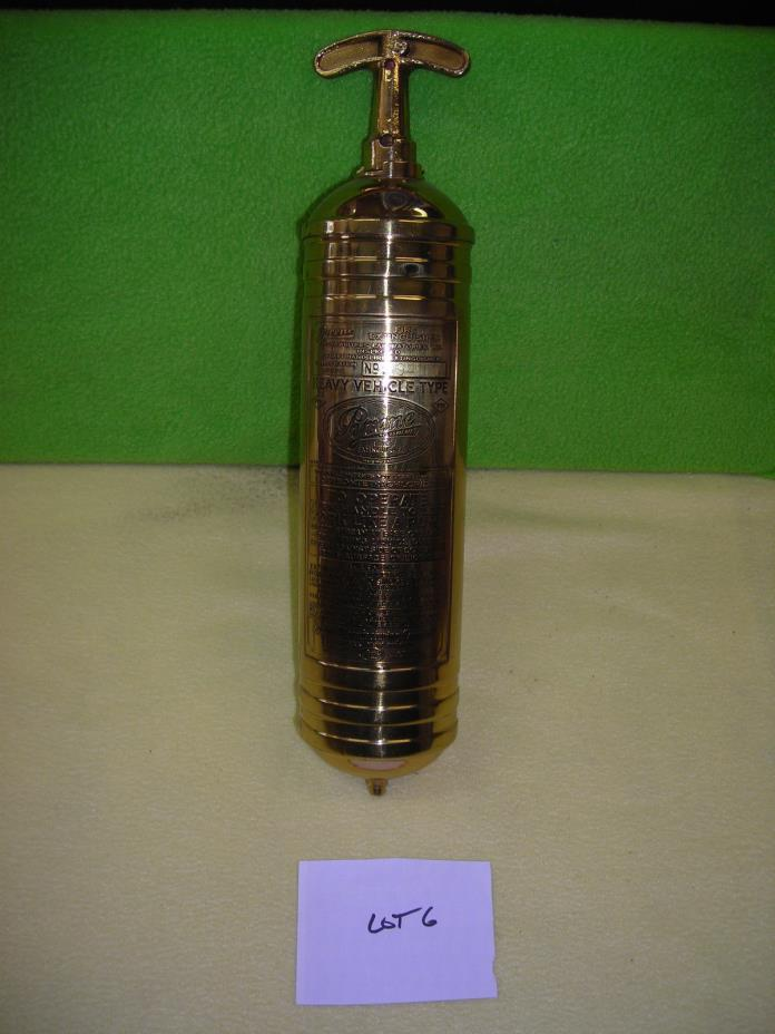 Antique Brass Fire Extinguisher - For Sale Classifieds